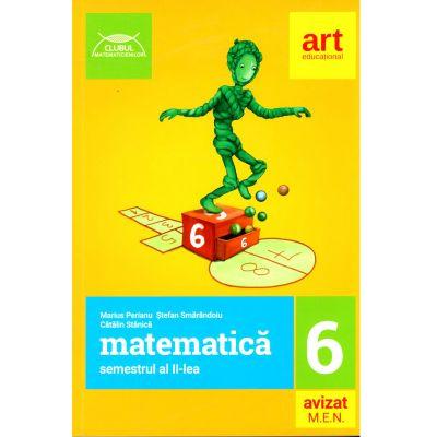 Matematică pentru clasa a VI-a - Semestrul II - Clubul Matematicienilor 2019- 2020