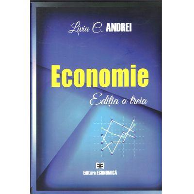 Economie. Ediția a treia, Liviu Andrei