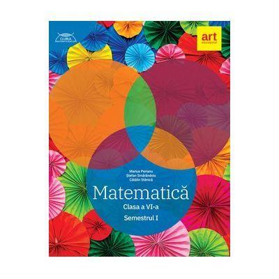 Clubul Matematicienilor 2019- 2020, Matematică - Clasa a VI-a - Semestrul 1 - Marius Perianu