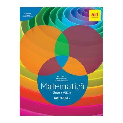 Clubul Matematicienilor 2019- 2020, Matematică - Clasa a VIII-a - Semestrul 1 - Marius Perianu