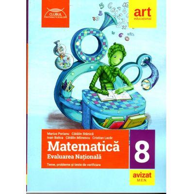 Evaluare Nationala 2020 Matematica - Evaluare națională la finalul clasei a VIII-a -Teme, probleme şi teste de verificare ( Marius Perianu)