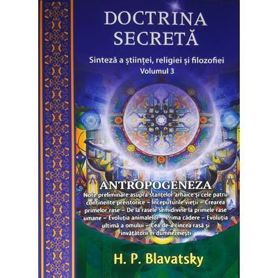 Doctrina secreta, volumul 3, Antropogeneza