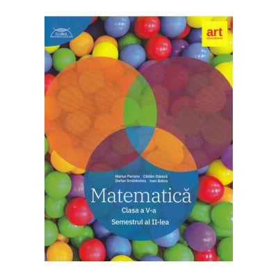 Matematică pentru clasa a V-a. Semestrul II. Clubul Matematicienilor 2019-2020
