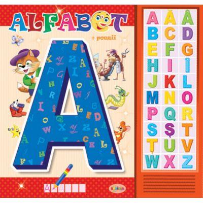 Carte cu sunete - Alfabet (+poezii)