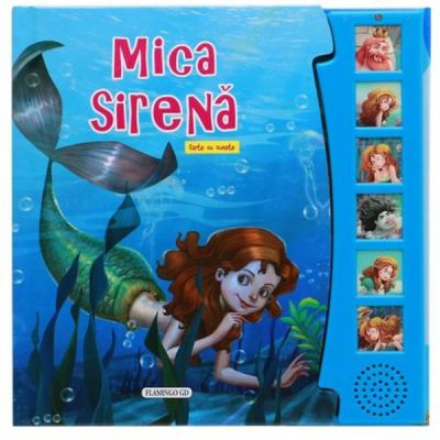 Mica Sirena carte cu sunete