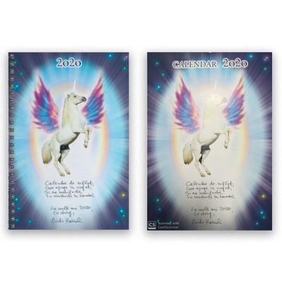 Pachet: Agenda spirituala 2020 si calendar spiritual 2020 (Ovidiu Harbada)