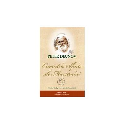 Cuvintele sfinte ale maestrului, Peter Deunov