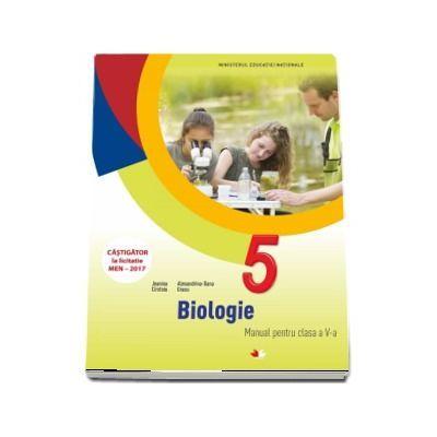 Biologie, manual pentru clasa a V-a. Contine si editia digitala (Jeanina Cirstoiu) - Cirstoiu, Jeanina