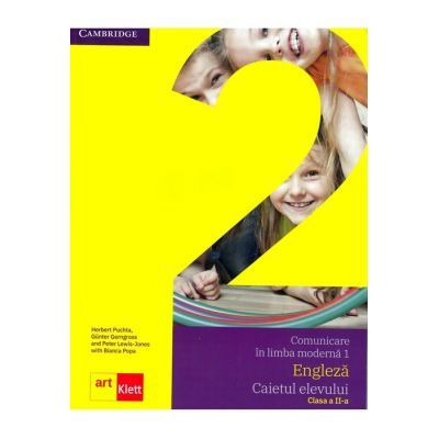 Comunicare în limba modernă 1 - Engleză, Caietul elevului clasa a II-a, Quick Minds Level 2, Activity Book