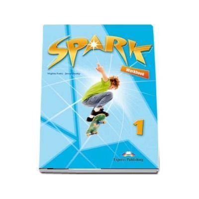 Curs pentru limba engleza Spark 1, Workbook with Digibook App. Caiet pentru clasa a V-a (Editie 2018) - Evans, Virginia