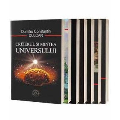 Dumitru Constantin Dulcan, set 7 carti, In cautarea sensului pierdut, 2 volume, Creierul si noua spiritualitate, Inteligenta materiei, Mintea de dincolo, Un promotor al noii spiritualitati, Creierul si Mintea Universului, Somnul ratiunii