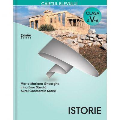 Istorie, caietul elevului pentru clasa a V-a (Gheorghe Maria Mariana) - Mariana, Gheorghe Maria