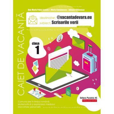 Caiet de vacanță 2020 - Scrisorile verii - @vacantadevara. eu - Clasa a I-a