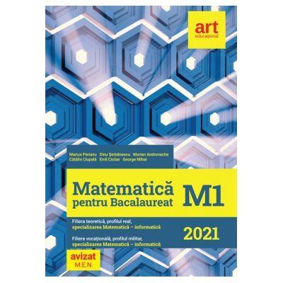Bacalaureat 2021 - Matematica M1 - Marius Perianu