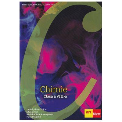 Chimie manual pentru clasa a VIII-a. Luminița Irinel Doicin, Maria Dragomir, Mădălina Veronica Angelușiu, Silvia Gîrtan